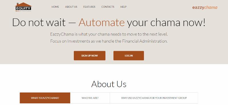 EazzyChama (Kenya), EazzyClub (Uganda) Platforms